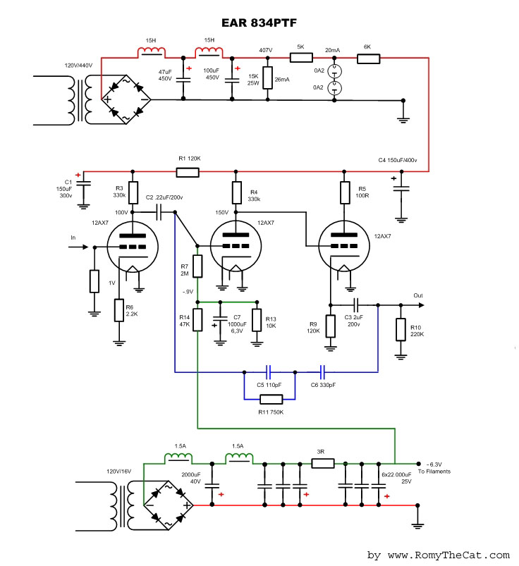 EAR834PT_12 Ear P Schematic on